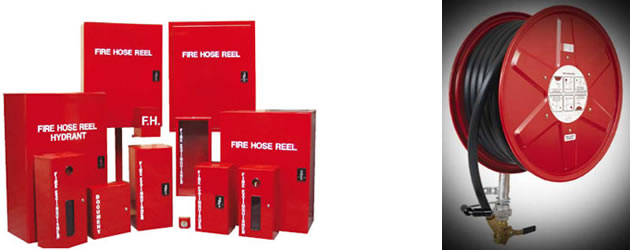High Quality Fire Hose Reels And Cabinets